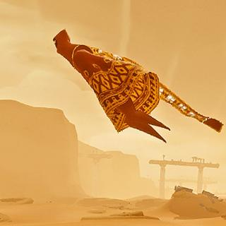 Journey is about ruined civilisations and subtle communications